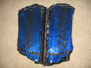 Scale mail corset