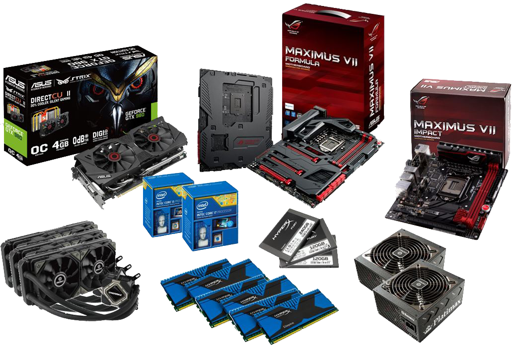 ASUS ROG OC Showdown 2015 Formula series prizes