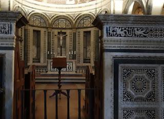 San Miniato Florence Italy Gregorian Chant stone mosaic