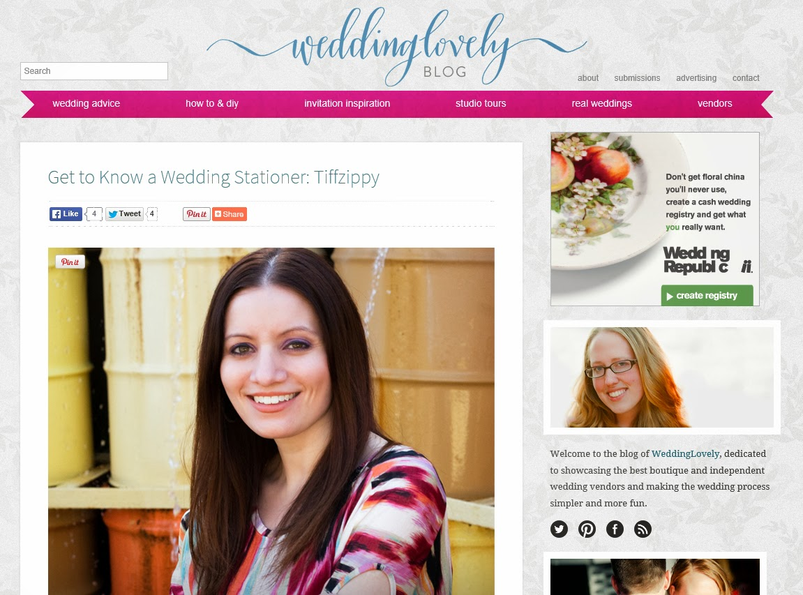 http://weddinglovely.com/blog/get-know-wedding-stationer-tiffzippy/