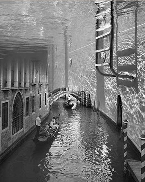 02-Splashdown-in-Venice-Swiss-Photographer-Photo-Montage-Surreal-Thomas-Barbèy-Designer-Recording-Artist-Lyricist-Fashion