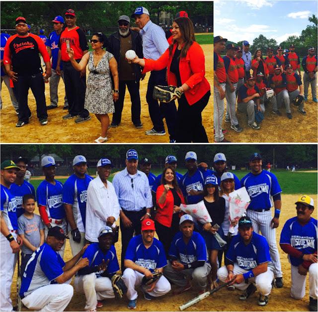 Hermandad Quisqueyana dedica torneo de béisbol  a precandidata a diputada del PRD