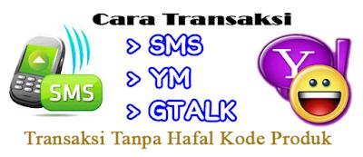 Format Cara Transaksi di Server Siupi Pulsa Murah Bandung Nasional