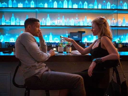 "Will Smith and Margot Robbie in ""Focus"""