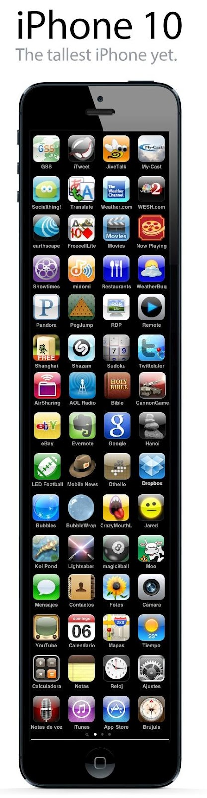 Generation Of Iphone They Call It As 10 The Tallest Yet