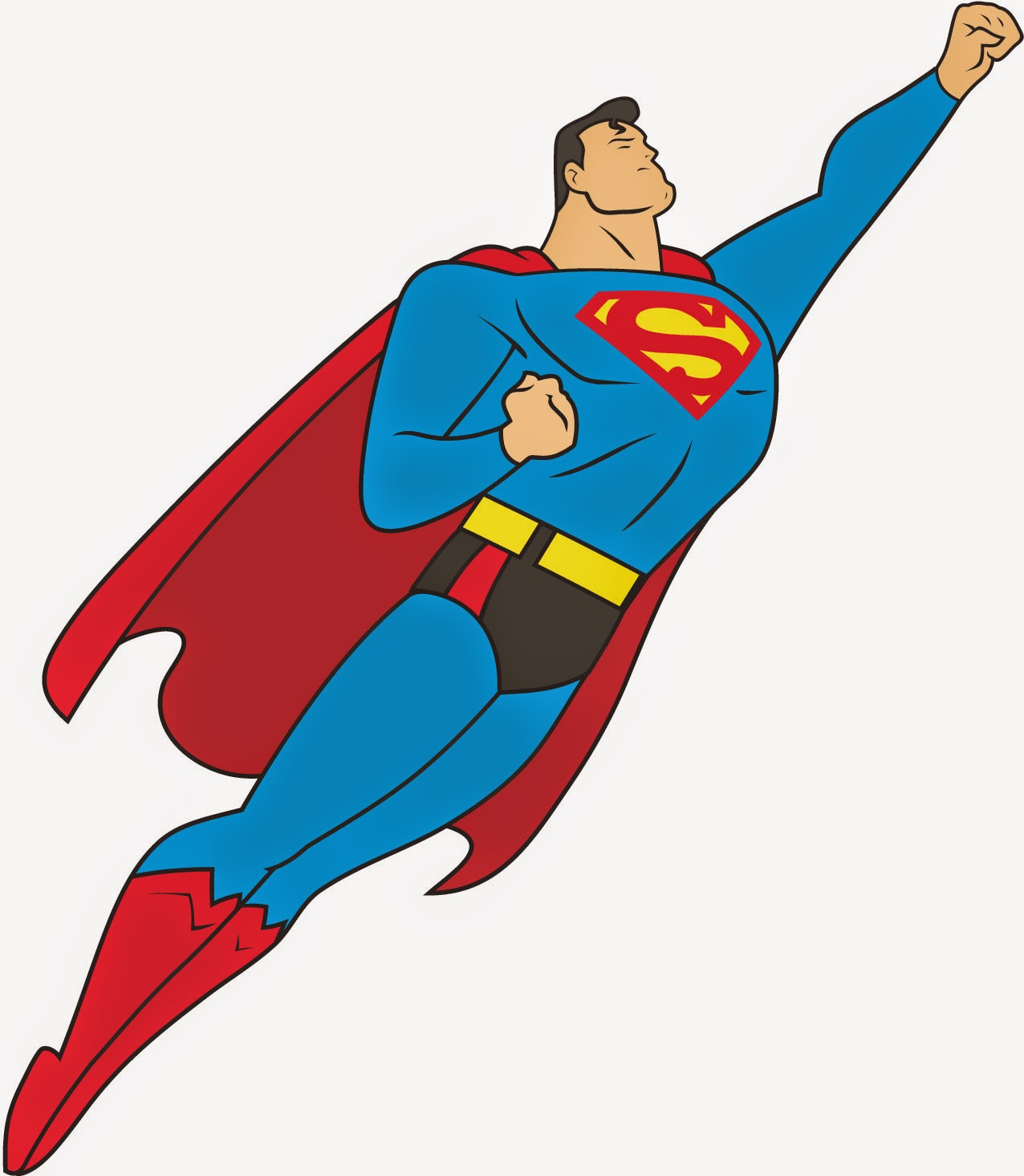 clipart superman flying - photo #3