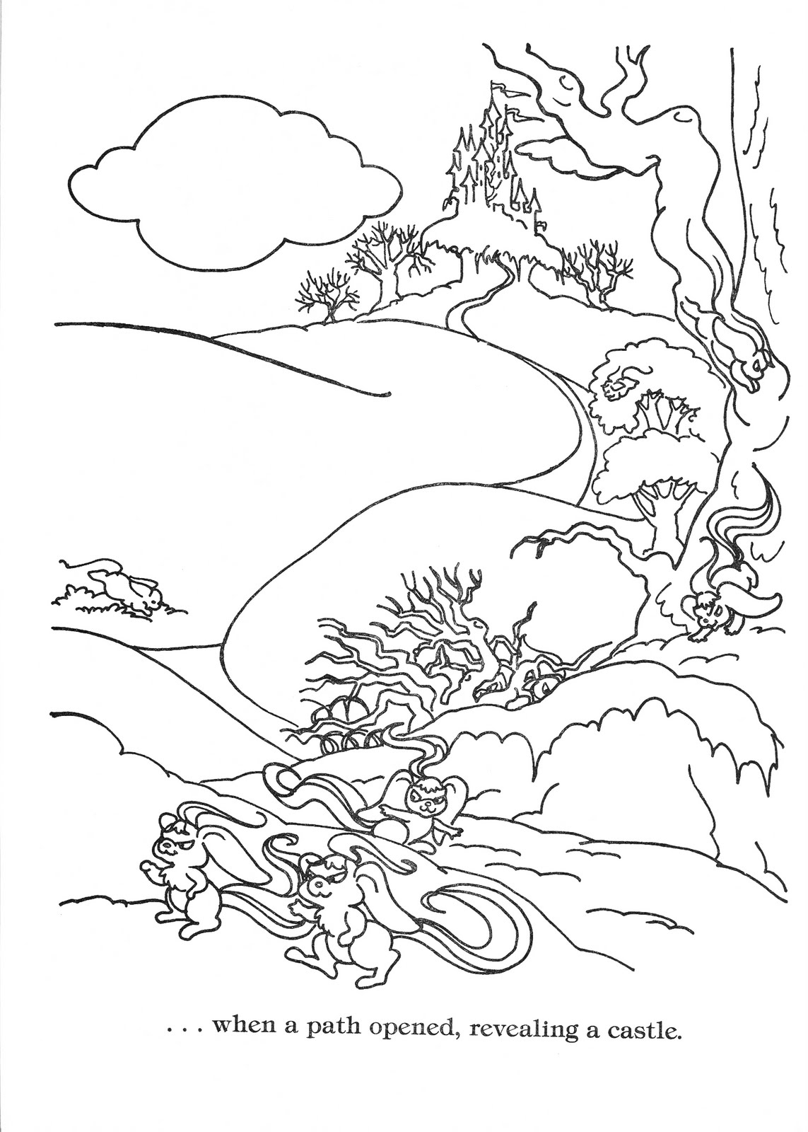 Lady Lovely Locks Coloring Pages Lady Lovely Locks Coloring