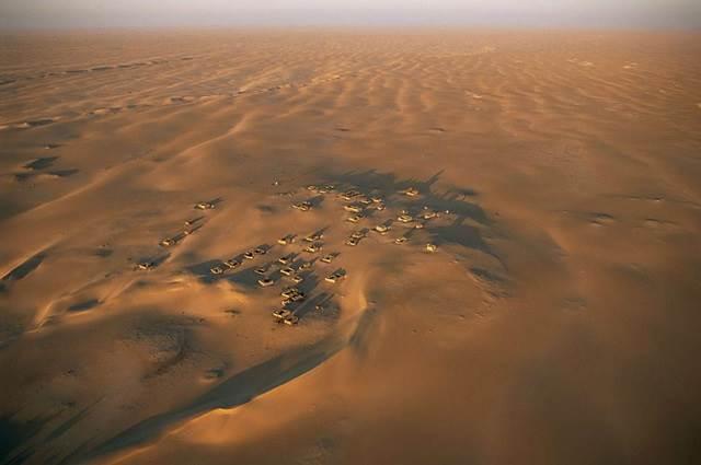 Arouane, perkampungan terpencil di antara Timbuktu dan Taodenni di Gurun Sahara