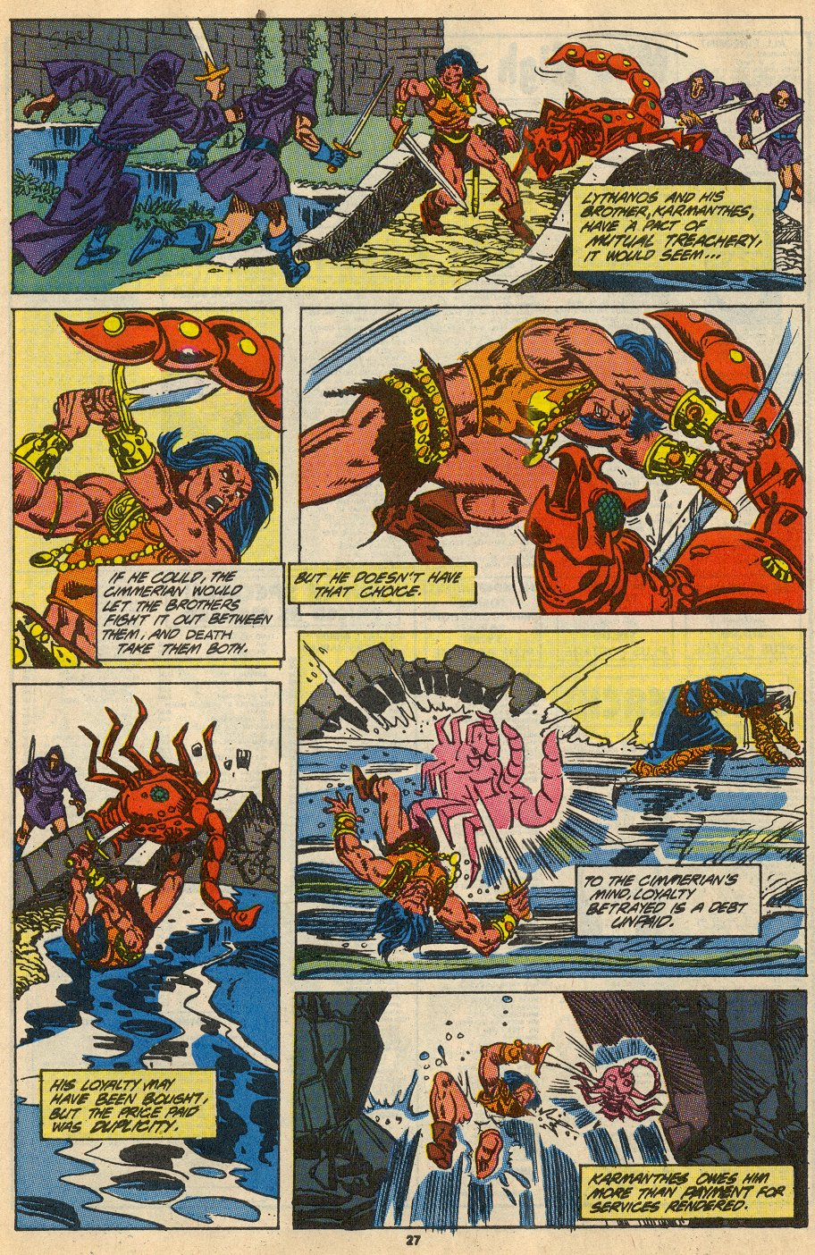 Conan the Barbarian (1970) Issue #230 #242 - English 22
