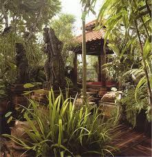 จัดสวนสไตล์สวนบาหลี Balinese Garden