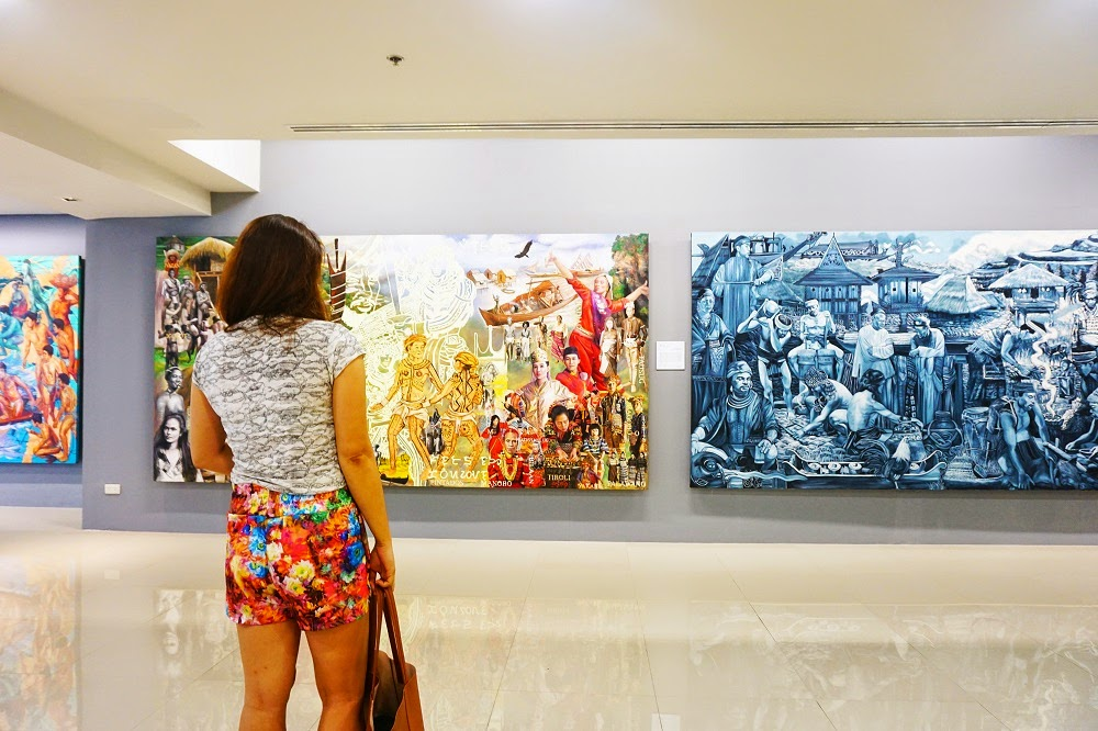 """SiningSaysay: The Journey of a Nation thru """"Philippine History in Art"""" Exhibit at Gateway Art Gallery"""