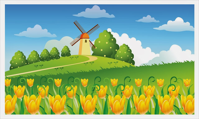 Beautiful Wallpaper: Garden Cartoon Pictures