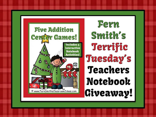 http://www.teachersnotebook.com/product/FernSmith/christmas-addition-centers-and-interactive-notebook-activities