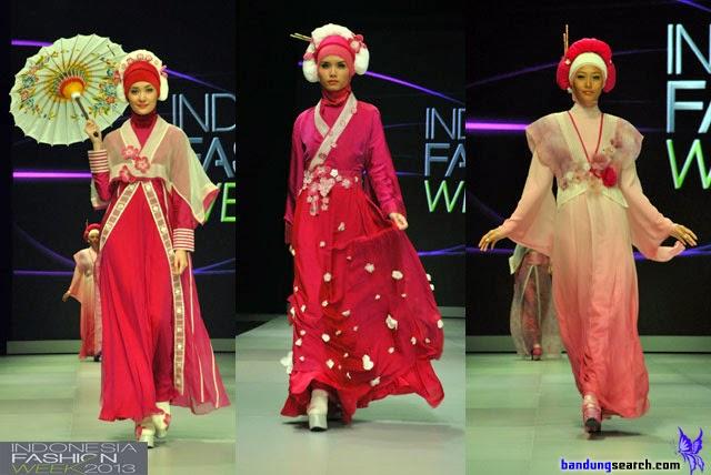 Gaun Busana Muslim Internasional Bilqis Tuti Adib