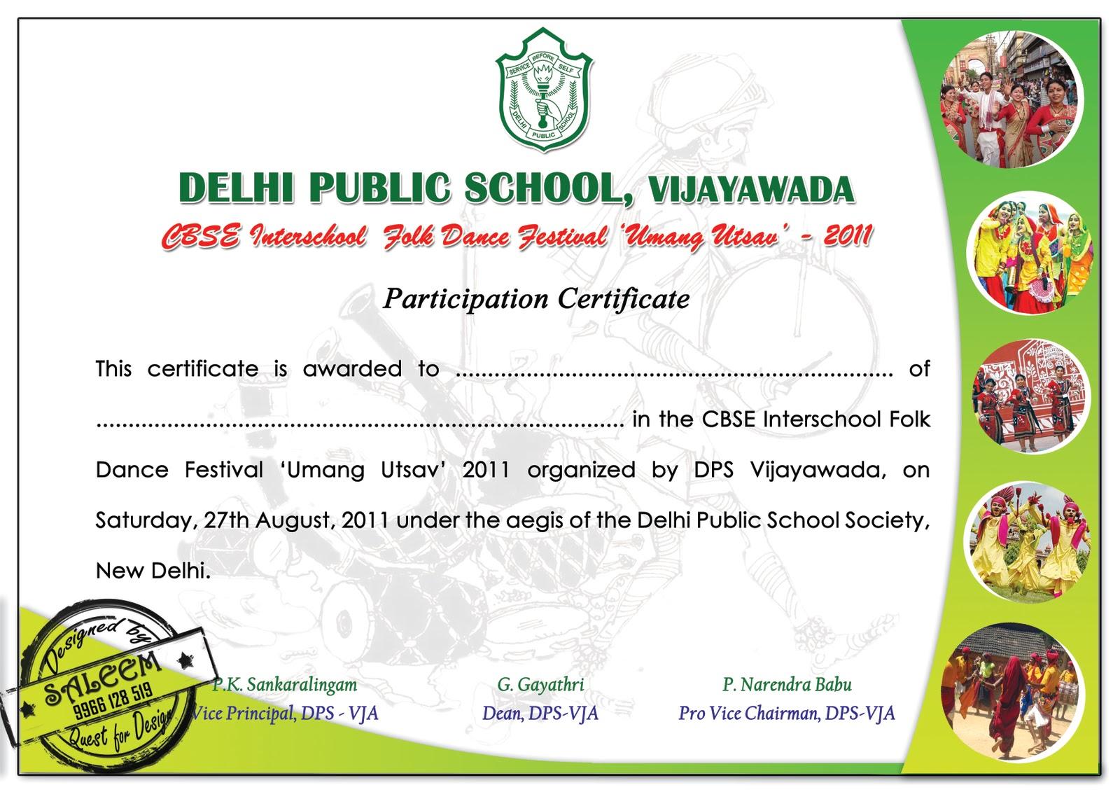 Certificates saleem quest for best designs folk dance certificate sample yelopaper Gallery