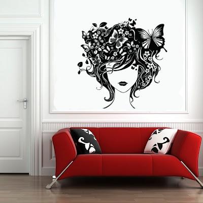 Vinilos decorativos una nueva opci n para decorar tus - Vinilos decorativos para paredes exteriores ...