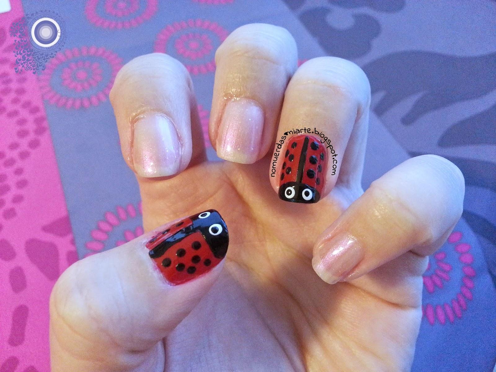 #HePicksMyPolish: mariquitas/ladybugs