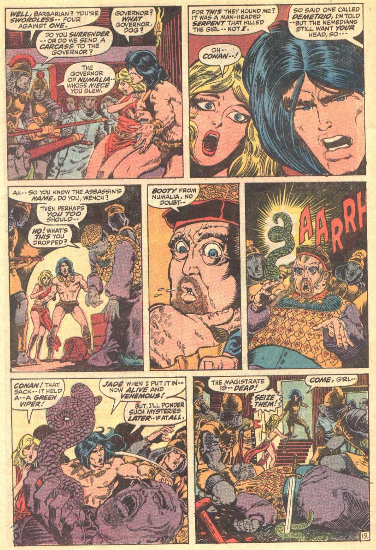 Conan the Barbarian (1970) Issue #8 #20 - English 20