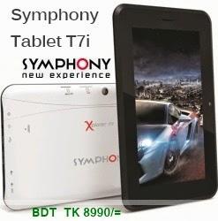 Symphony Tablet T7i - BDT TK 8990/=