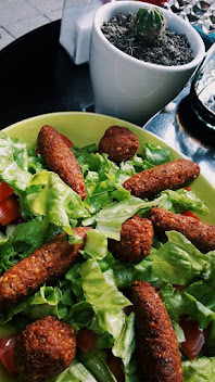 falafel salata (organik )