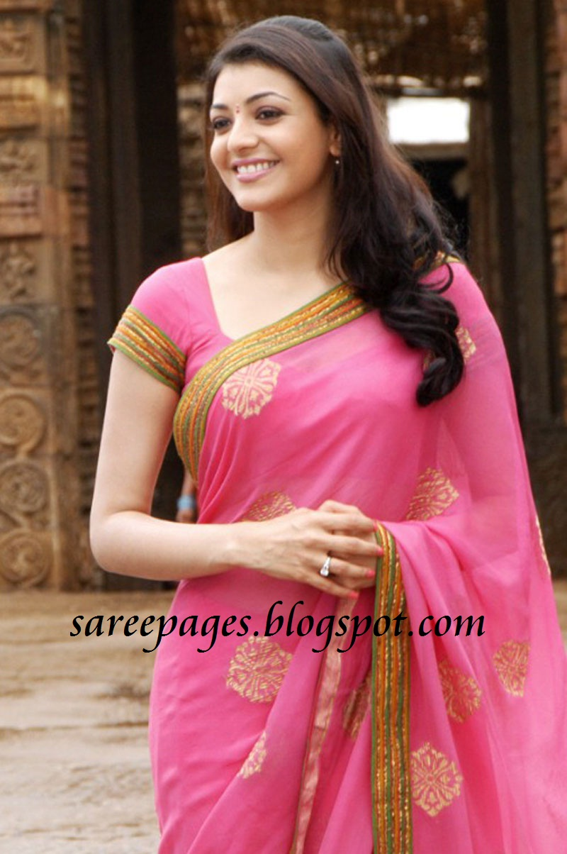 Latest Designer and Traditional Sarees: Kajal Agarwal in ...