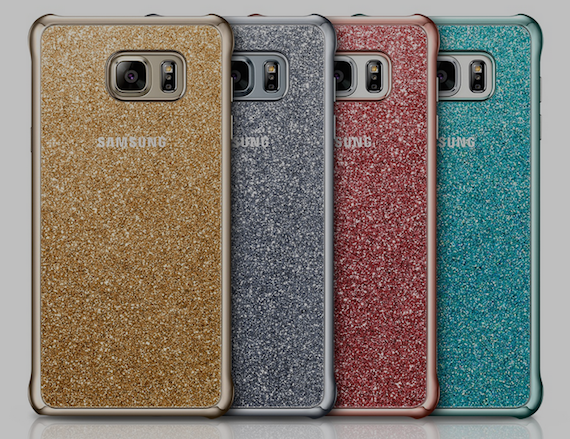 4. Glitter Cover for Note 5