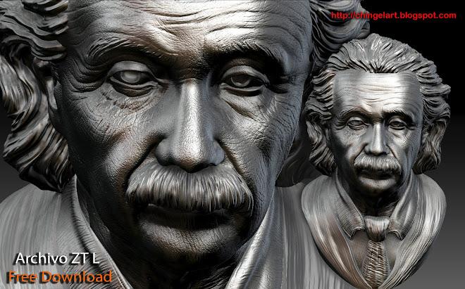 Albert Einstein 3D