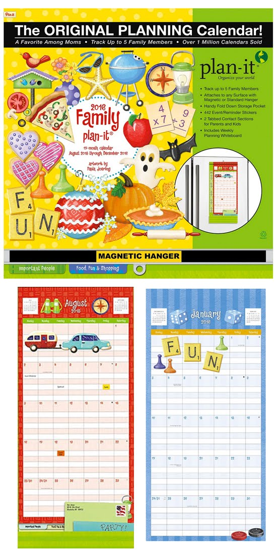 "2015-2016 Lang ""Family Plan-It"" Calendar"