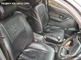 Iklan baris mobil, Dijual - Peugeot 405 tahun 1990