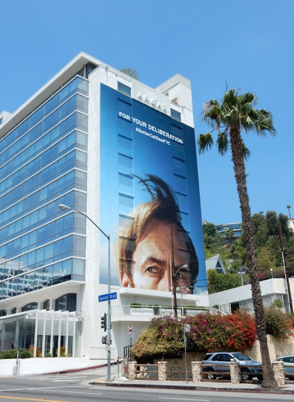 Giant For Your Deliberation Better Call Saul Emmy billboard