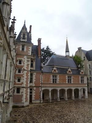 Castillo de Blois Capilla Saint Calais