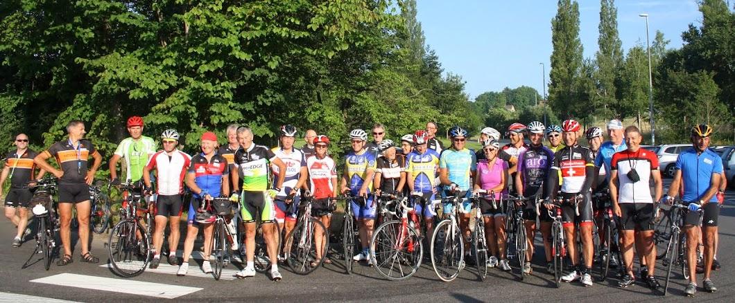 Bij de start te Leuven op 21 juli 2013
