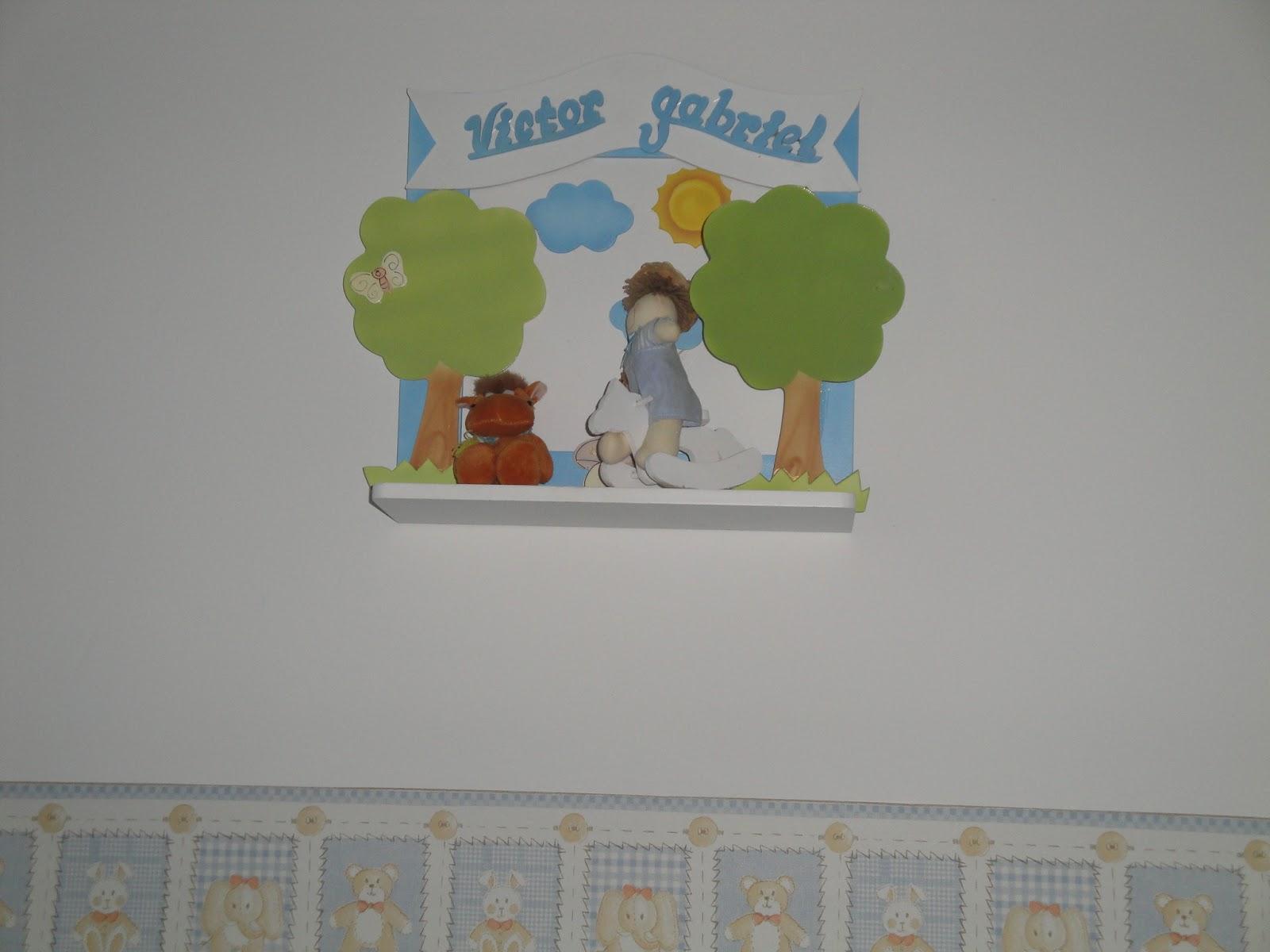 Estilo Baby Decoração de Maternidade Quarto de bebê com o tema da Fazendinha