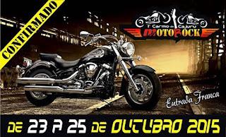 Encontro de motociclistas de Carmo do Cajuru