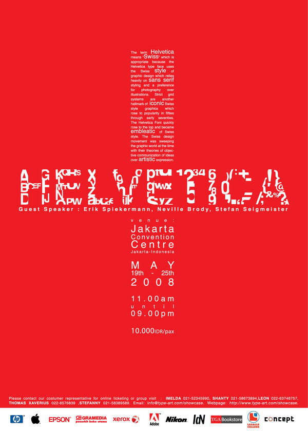 Helvetica Poster