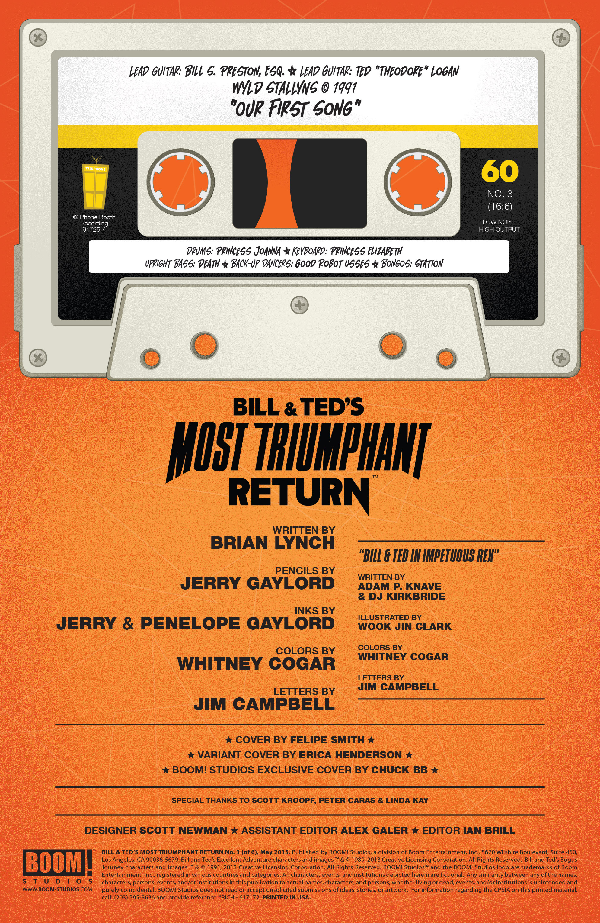 Read online Bill & Ted's Most Triumphant Return comic -  Issue #3 - 2