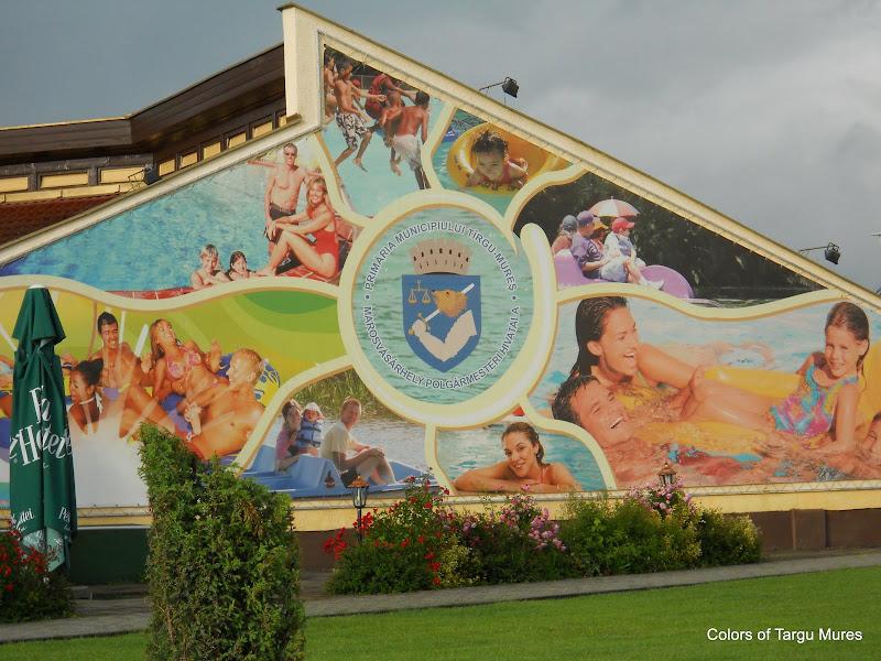 Aqualand Tirgu Mures. Strand Targu Mures. Complexul Weekend Tg. Mures