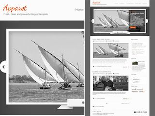 Download Apparet Blogger Template