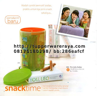 TupperwareRaya-Katalog Tupperware Reguler 2013, trio lolly