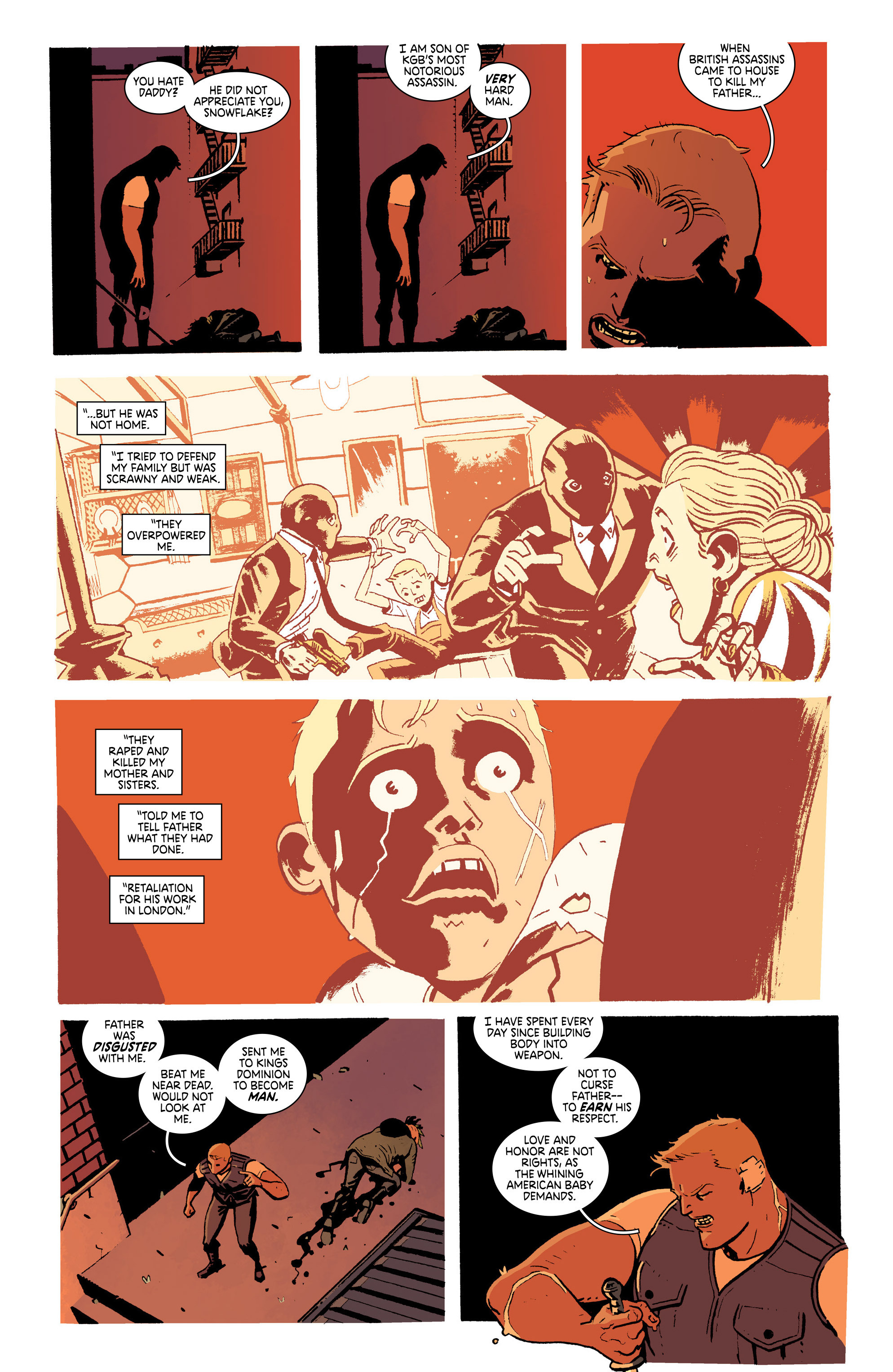 Read online Deadly Class comic -  Issue #19 - 13