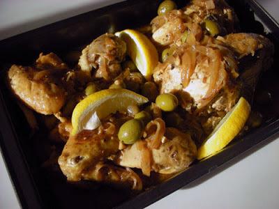 Kurczak w stylu marokańskim