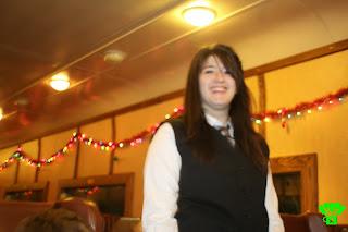 Santa Train Elf