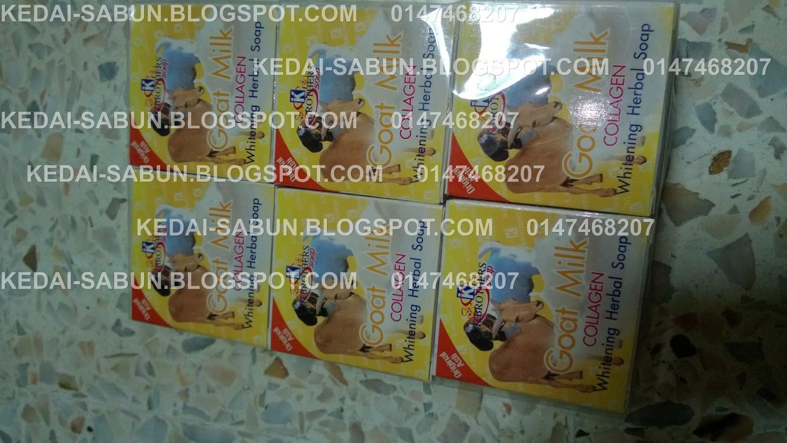 Sabun Susu Kambing Collagen K Brothers Produk Kecantikan Dan