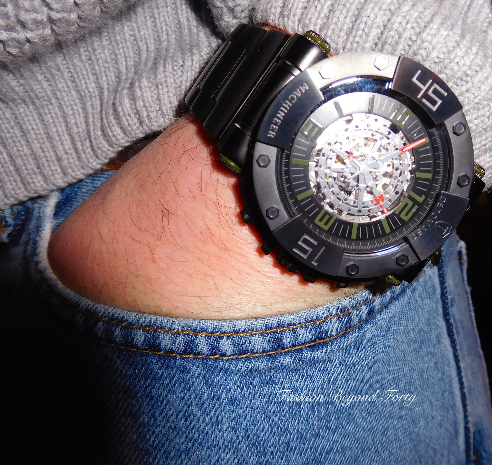 DeTomaso Machineer Watch Review