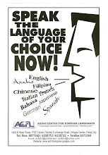 Speak the Language of Your Choice!