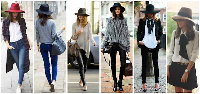 tendencias otoño-invierno, sombreros