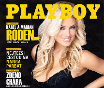 Eva Perkausova Playboy República Checa Janeiro 2013