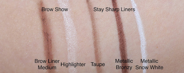 annabelle smokey nude stay sharp and brow show review swatch