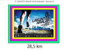 Lakuntza Aralar: 28 km / 1500md+