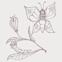 'L'eruga i la papallona (Liudmila Liutsko)'